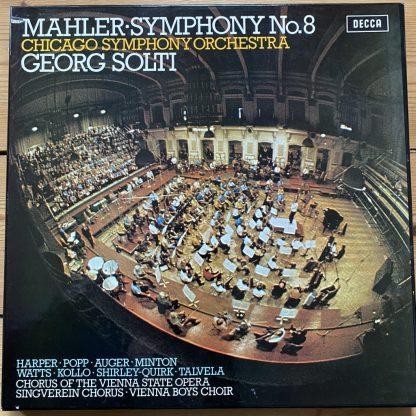 SET 534-5 Mahler Symphony No. 8 / Solti / CSO 2 LP box