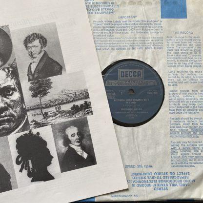 SDDE 304/7 Beethoven The Five Piano Concertos / Gulda / Stein 4 LP box set