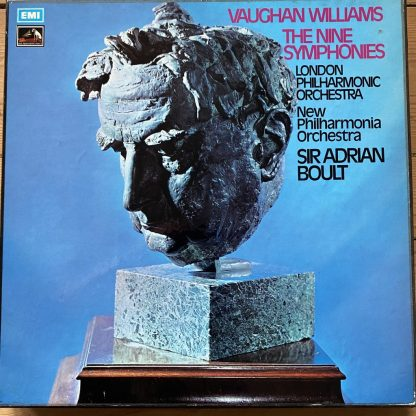 SLS 822 Vaughan Williams The Nine Symphonies / Boult 9 LP box HP LIST
