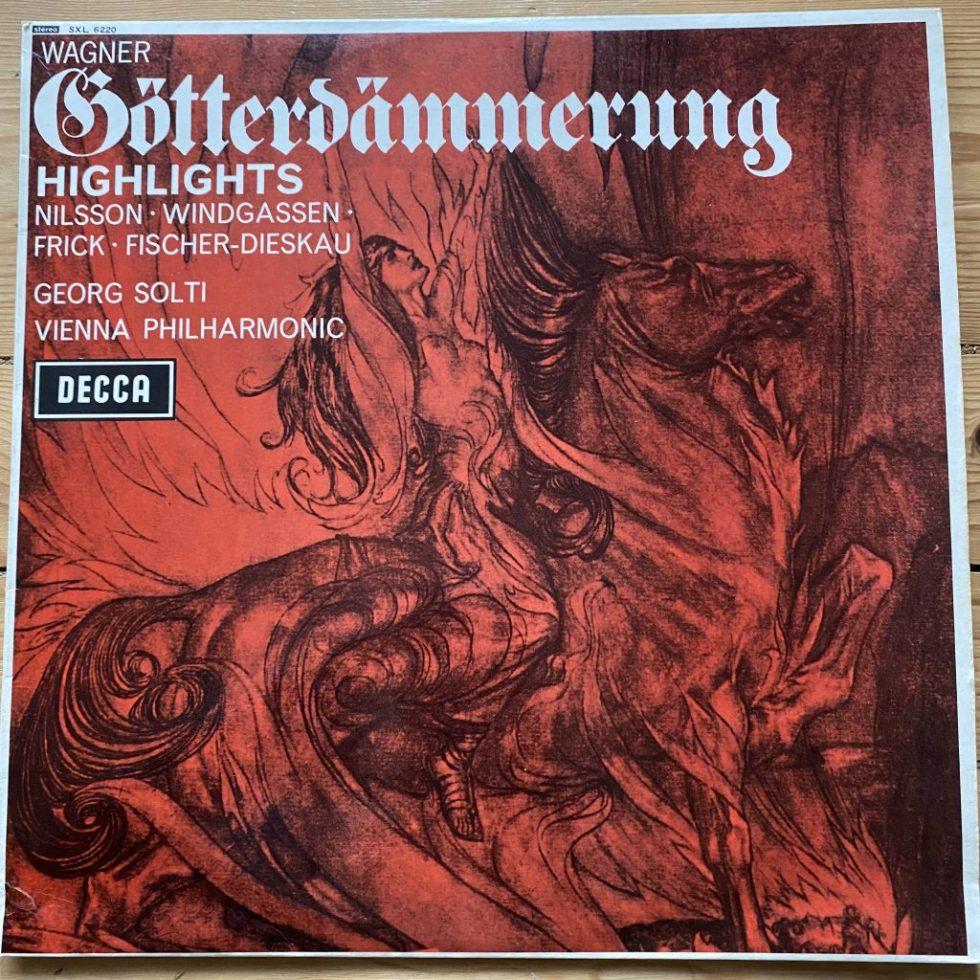 SXL 6220 Wagner Gotterdammerung Highlights / Solti / VPO W/B