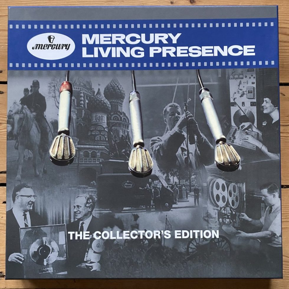 478 3824 Mercury Living Presence - The Collector's Edition 6 LP box