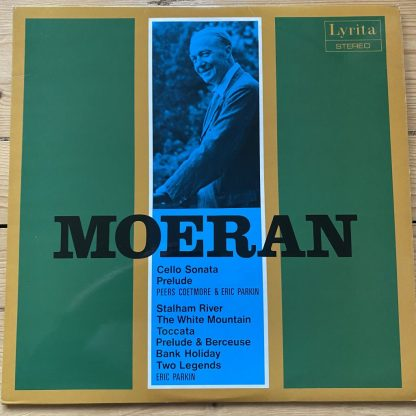 SRCS 42 Moeran Cello Sonata / Piano Pieces etc. / Coetmore / Parkin