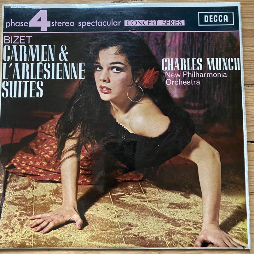 PFS 4127 Bizet Carmen & L'Arlesienne Suites / Munch / NPO
