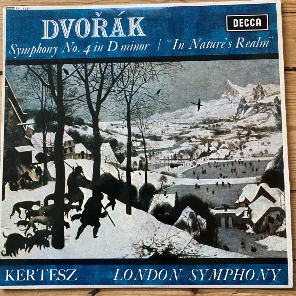 SXL 6257 Dvorak Symphony No. 4, etc. / Kertesz / LSO W/B