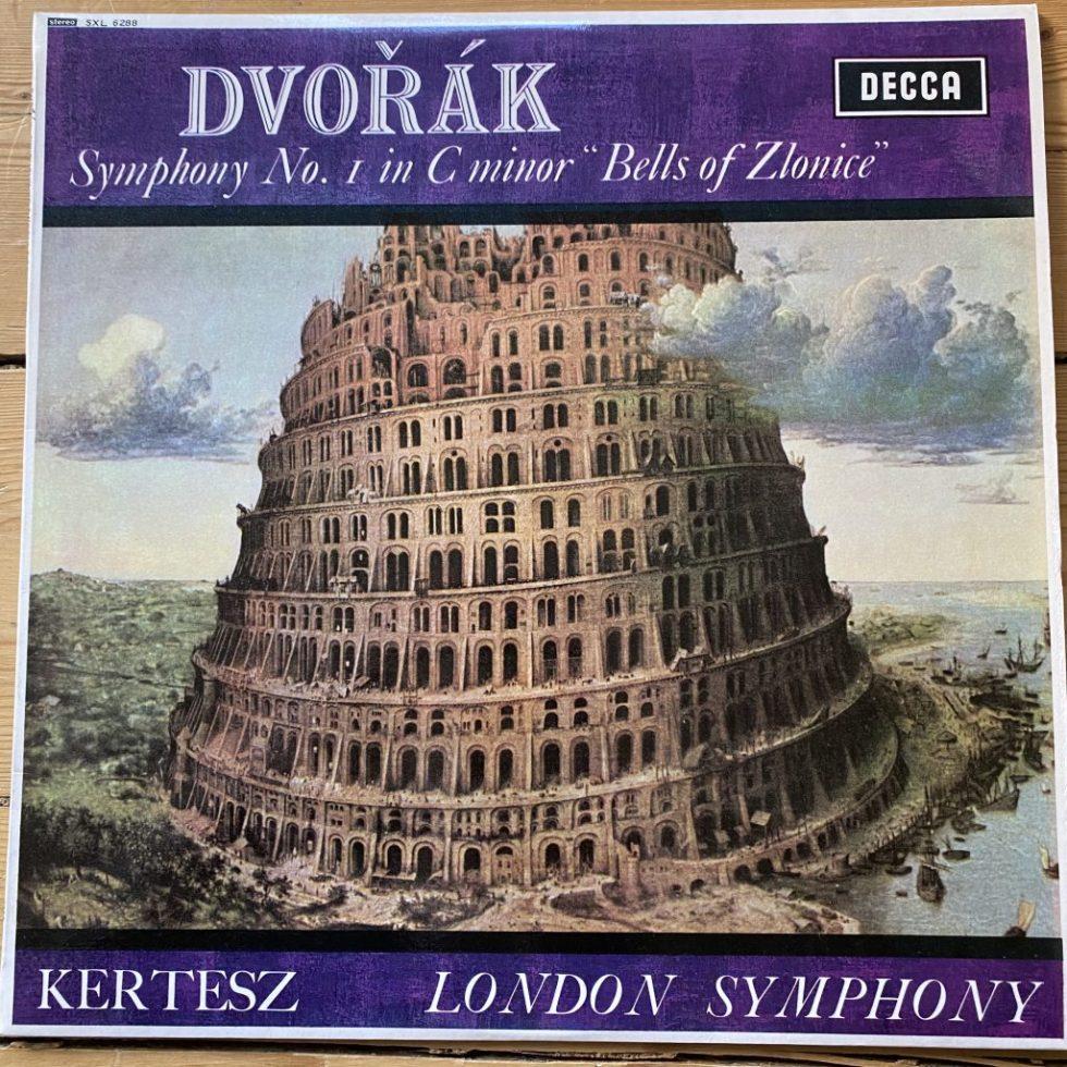 "SXL 6288 Dvorak Symphony No. 1, ""Bells of Zlonice"" / Kertesz / LSO W/B"