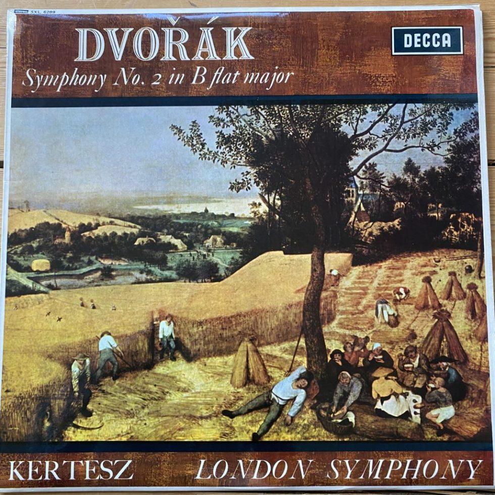 SXL 6289 Dvorak Symphony No. 2 / Kertesz / LSO W/B