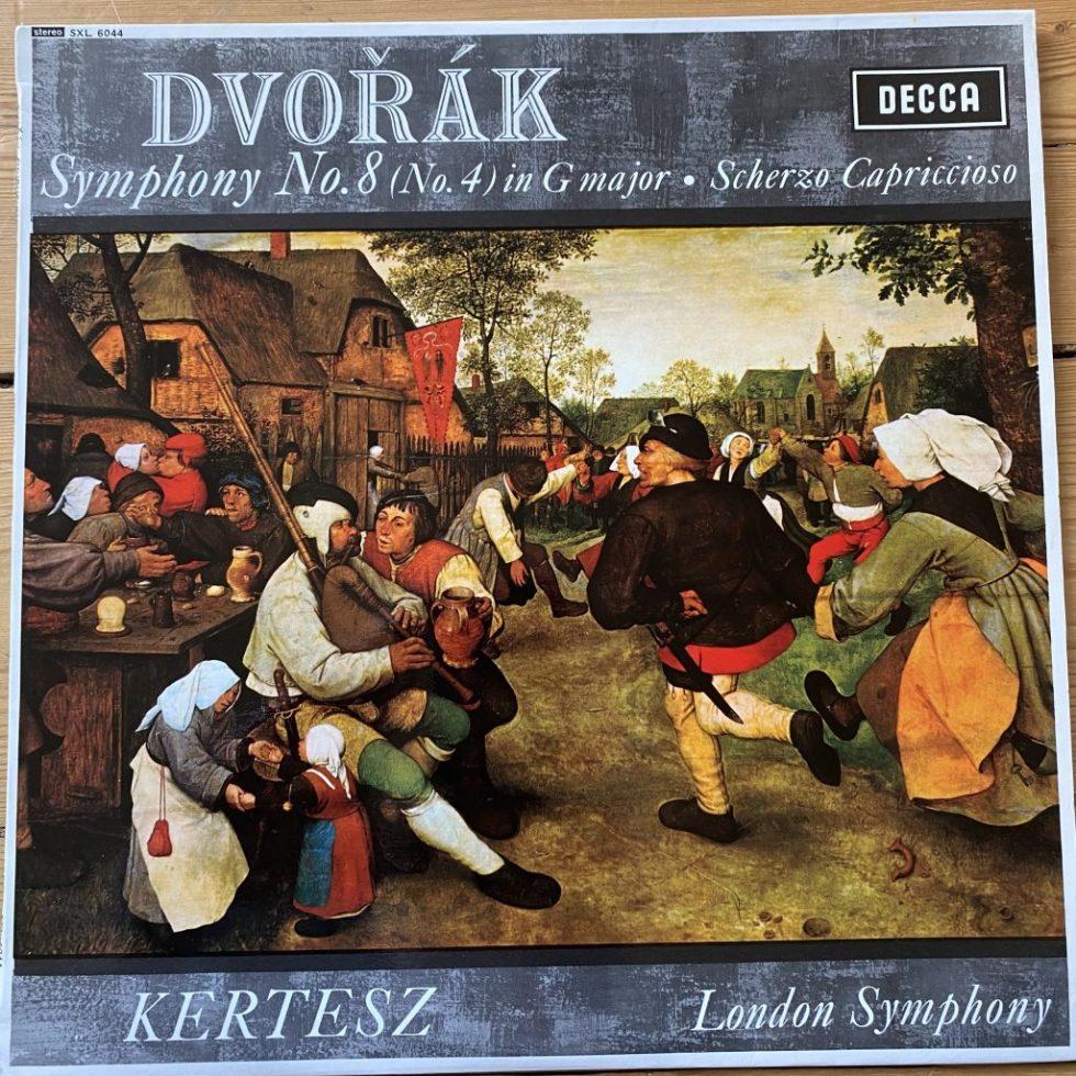 SXL 6044 Dvorak Symphony No. 8 / Scherzo Capriccioso / Kertesz /