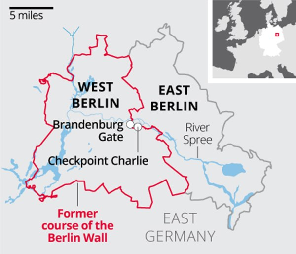 Berlin Wall 1961 | Revolutionsarethelocomotivesofhistory
