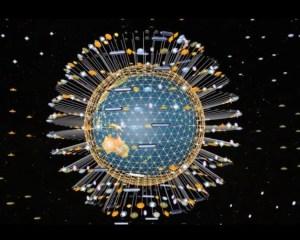 Vidéo hommage à toutes les personnes participant au projet de la grille de lumière des pierres de Cintamani