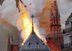 L'incendie de Notre-Dame ou l'acte désespéré d'une Cabale planétaire qui sent sa fin venir…