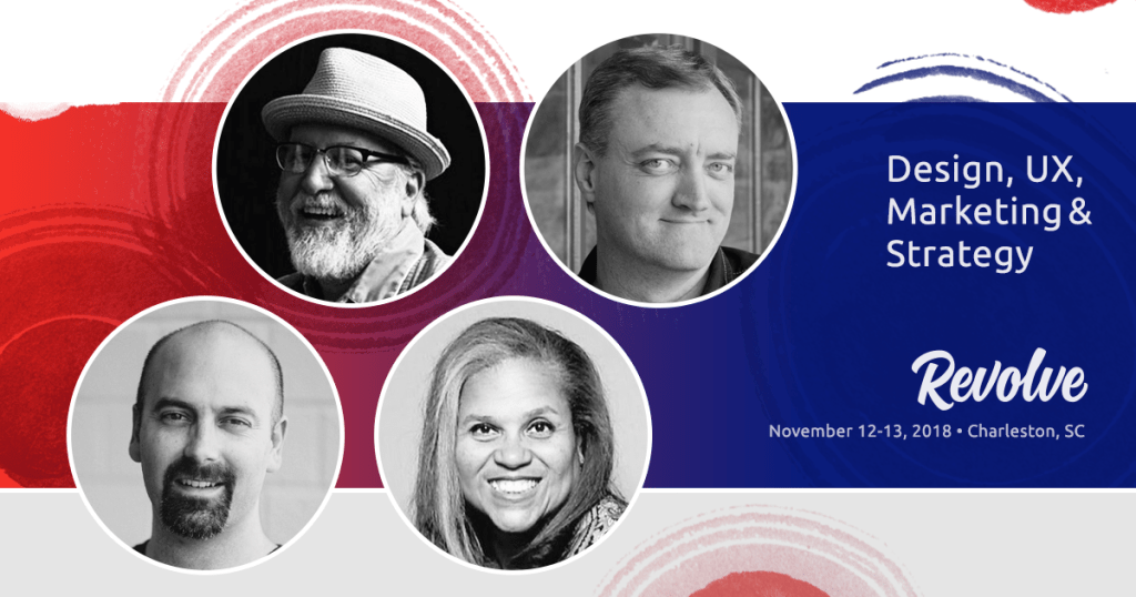 Revolve Conference 2018 - The Fourth Round of Speakers