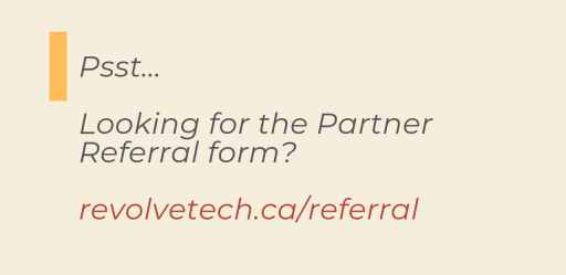 Join our Agent Partner Program at Revolve Technologies Inc and become part of the largest Master VAR network in Canada