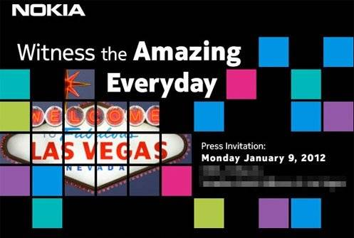 Nokia, Windows Phone at CES 2012 event