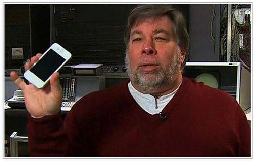Steve Wozniak: The Other smartphones is a failure, as was the Macintosh!