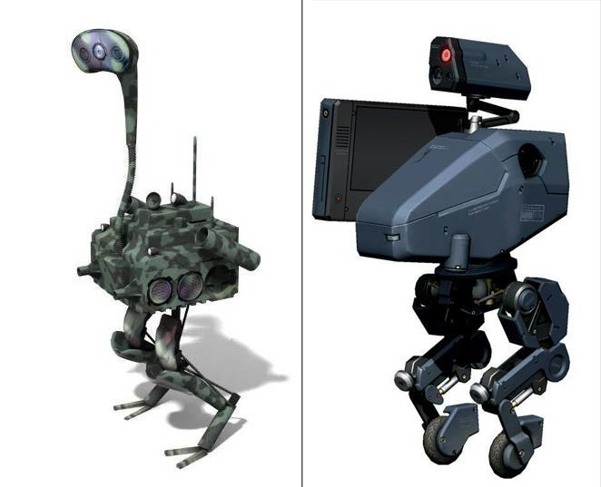 Ostrich Savior Fast Runner Robot Able to Carry Supplies to Disaster