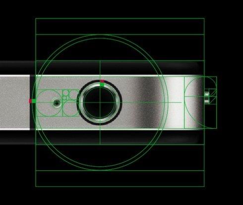 Apple and Golden Ratio, Golden Rectangle, Fibonacci Sequence in the Design-8