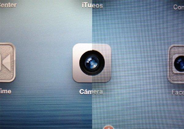 Retina of the New iPad