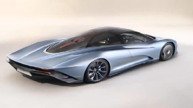McLaren-Speedtail hybrid supercar