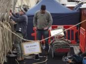 Cutty Sark (6): men at work