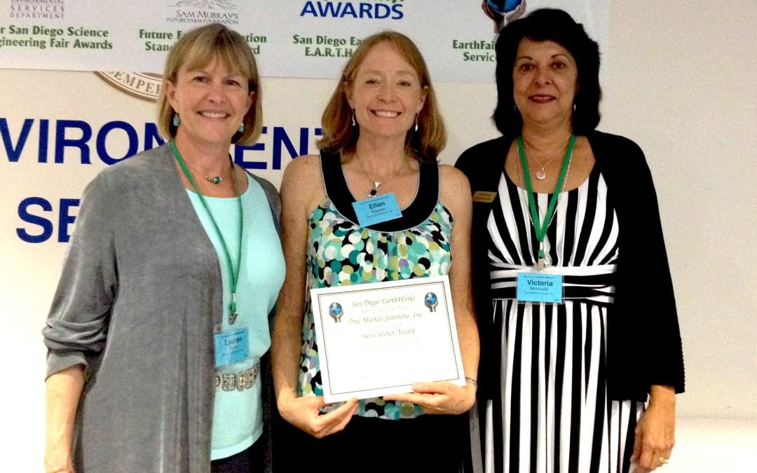 TMS awarded 2014 San Diego EarthWorks Sun Catcher Award