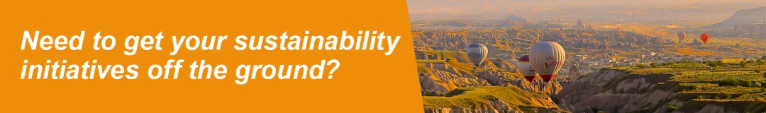 Need to get your sustainability initiatives off the ground?
