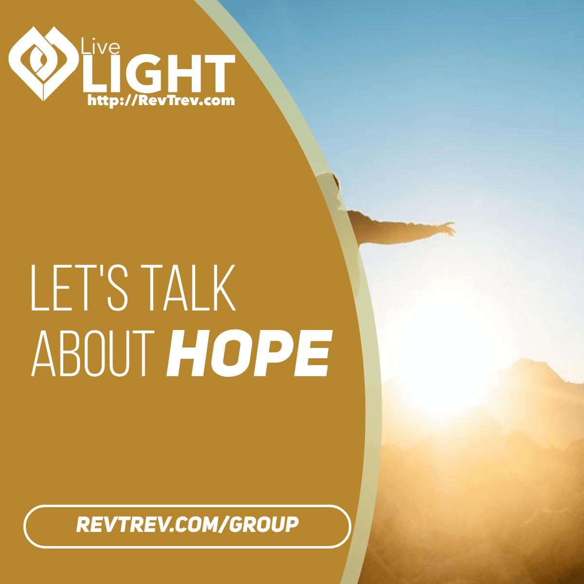 Let's talk about Hope via @trevorlund