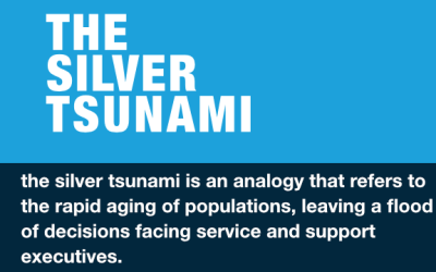 BLOG/INFOGRAPHIC – The Silver Tsunami