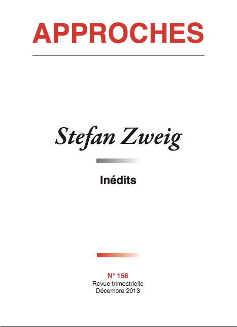 Couverture du n°156 - Zweig