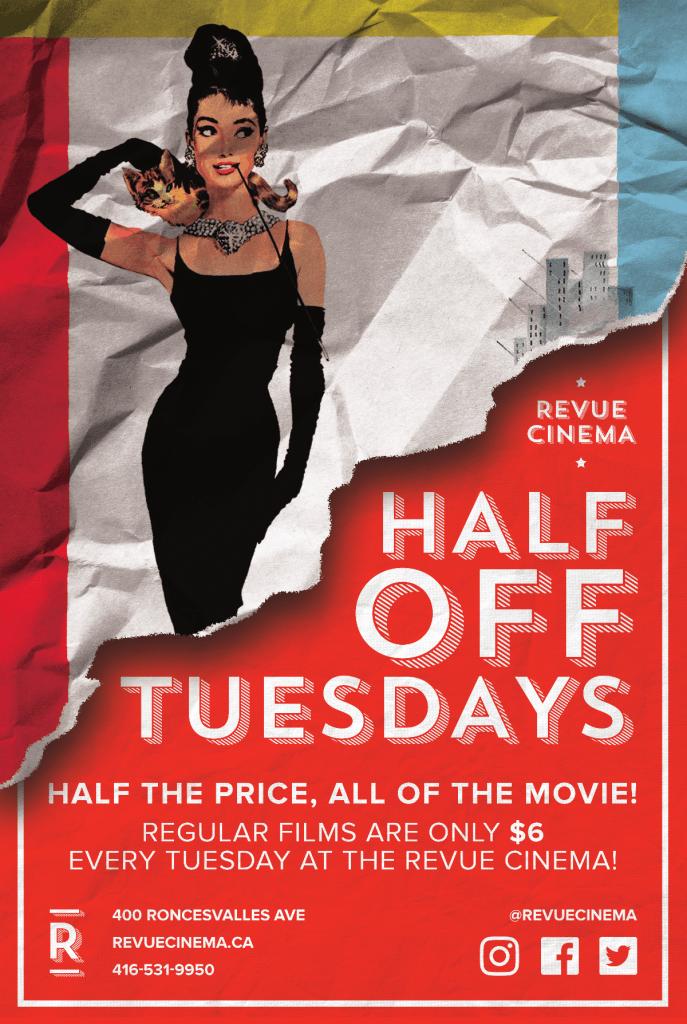 Revue Half Price Poster 12x18