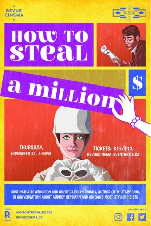 how to steal a million poster