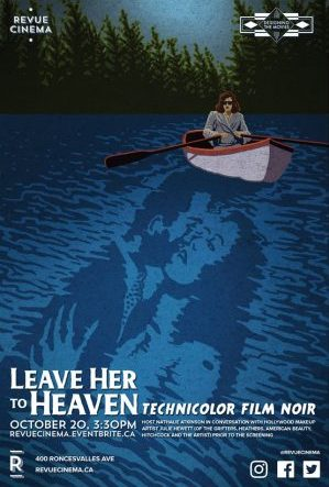 leave her to heaven revue poster
