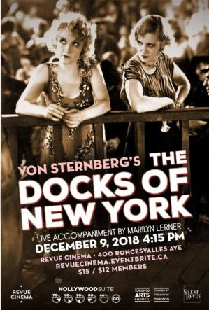 docks of new york poster