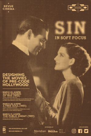 sin in soft focus poster