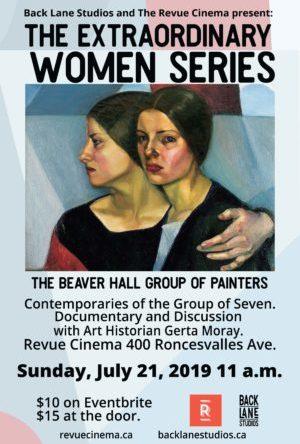 beaver hall group poster