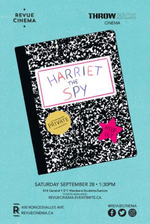 harriet the spy poster