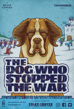 the dog who stopped the war poster 2019