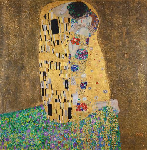 Gustav Klimt, Le Baiser (1911)