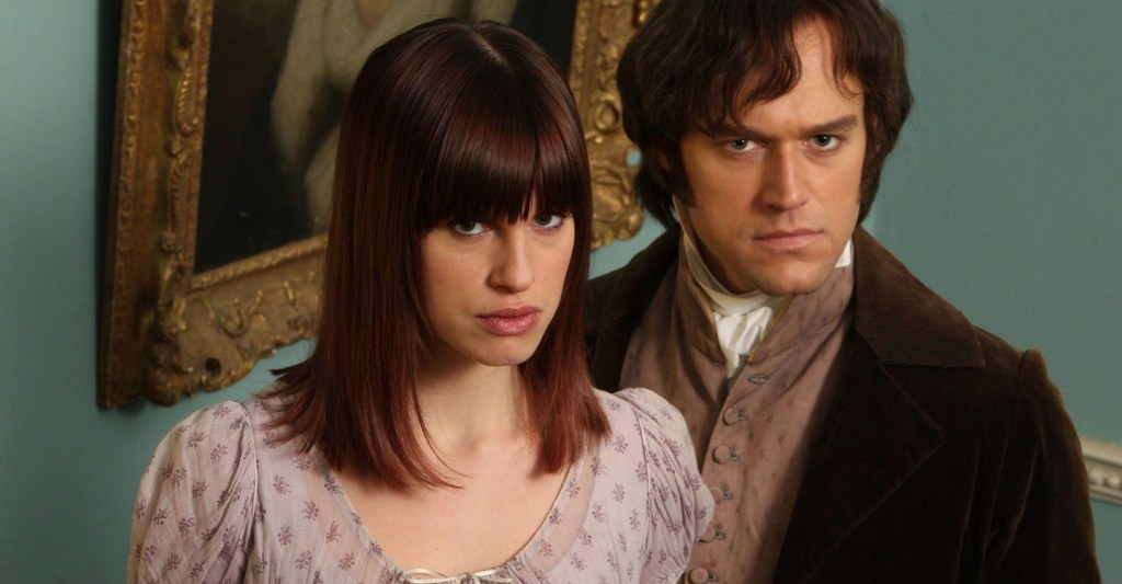 Amanda et Mr Darcy