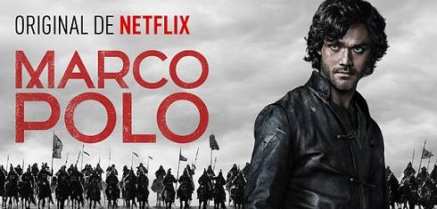 Affiche officielle de Marco Polo (série Netflix)