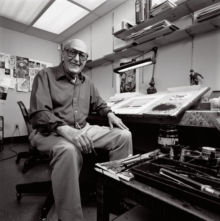 Will Eisner en noir et blanc