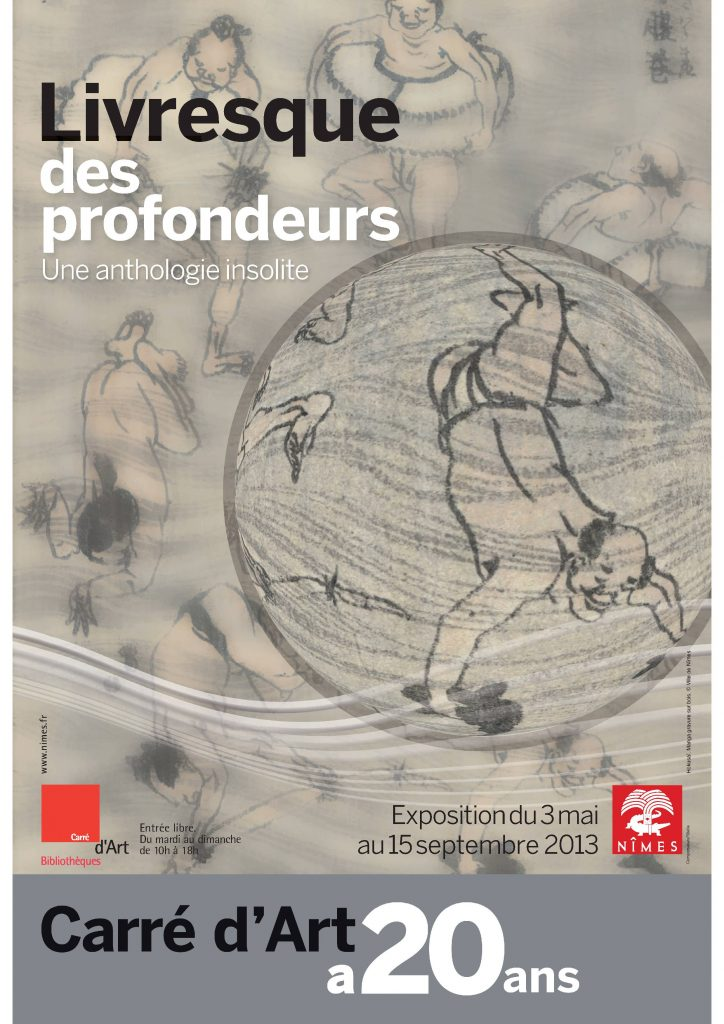 Fig. 1 : Affiche de l'exposition © Bibliothèque Carré d'Art de Nîmes