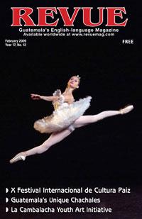 Natalia Kungertseva portrays Princesa Aurora in Sleeping Beauty as part of the X Festival Internacional de Cultura Paiz (see DateBook)
