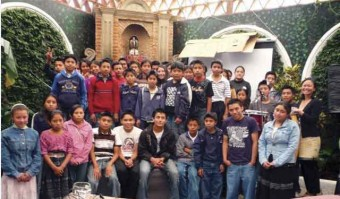 CasaSito scholarship students for 2009