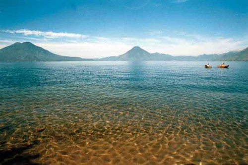 Lake Atitlán by (photo by Harris & Goller)