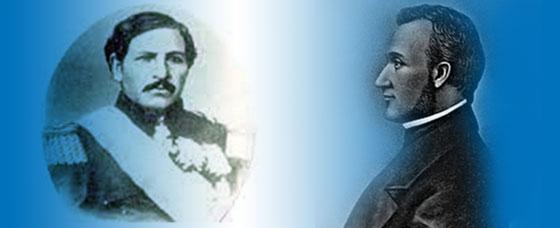 Rafael Carrera and Francisco Morazán
