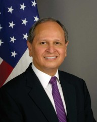 Arnold A. Chacón (photo courtesy of U.S. Embassy)