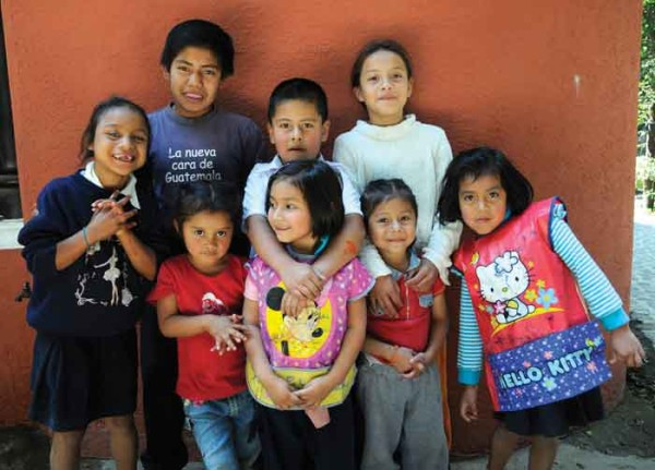 Rescued children get a chance at a new life (courtesy by Nuestros Ahijados)