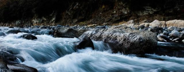 Cascade d'eau, fuite d'eau