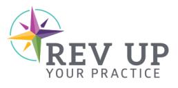 Rev Up Your Practice mini logo