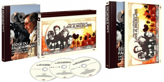 3D COFFRET ULTRA COLLECTOR POLICE FÉDÉRALE, LOS ANGELES OUVERT DEF